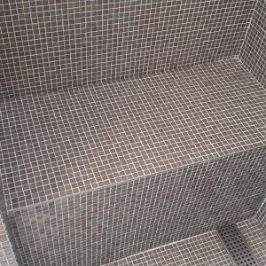 Luxe badkamer mozaiek Amsterdam
